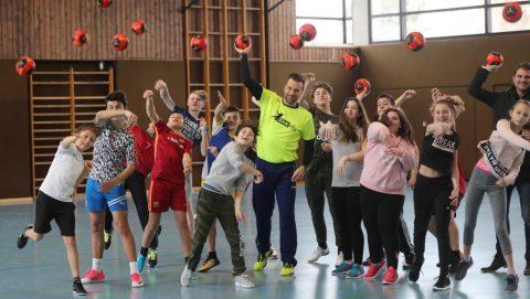 Dragos Oprea trainierte mit Neugreuthschülern